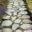 Walkway in Ostia Antica - Stock Photo