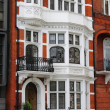British red brick mansion — Stock Photo #6795309
