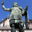 Statue of emperor Constantine — Stock Photo