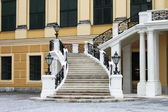 Staircase of Schonbrunn castle — Stock Photo