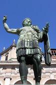Statue of emperor Constantine — Stock Photo
