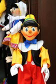 Pinocchio, the italian wooden puppet — Stock Photo