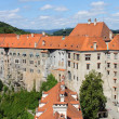 Cesky Krumlov castle — Stock Photo