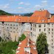 Cesky Krumlov castle — Stock Photo