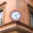 Stock Photo: Ancient wall clock
