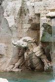 Mythologic monster — Stock Photo