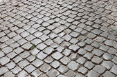 Very old roman pavement — Stock Photo