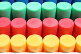 Colorful cylinders — Stock Photo
