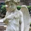 Angel statue with cross — Stock Photo #7088075