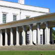 Queen's house colonnade, Greenwich — Stock Photo