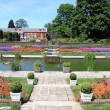 Gardens of Kensington palace — Stock Photo