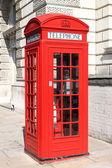 London red telephone box — Stock Photo