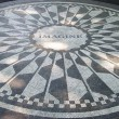 Strawberry Fields mosaic, NYC — Stock Photo