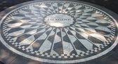Strawberry Fields mosaic, NYC — Stock Photo