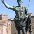 Statue of emperor Augustus — Stock Photo