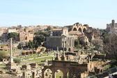 Det romerska forumet — Stockfoto