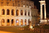 Theatre of Marcellus by night — Stock Photo