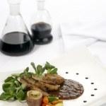 Food plate — Stock Photo