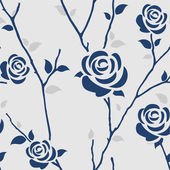 Wallpaper floral — Stock Vector