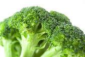 Closeup broccoli — Stock Photo