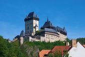 Castle Karlstejn in Bohemia — Stock Photo