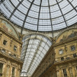 Milan - Vittorio Emanuele Gallery — Stock Photo