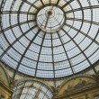 Milan - Vittorio Emanuele Gallery - Stock Photo