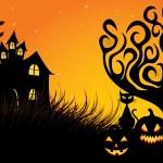 Spooky Halloween — Stock Vector