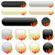 On Fire! — Stock Vector