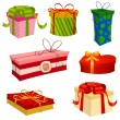 Stock Vector: Gifts Set