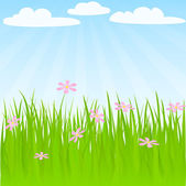 Spring background — Stock Vector