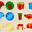 Stock Vector: Christmas Presents