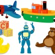 Toys set — Stock Vector