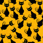 Black cat — Stock Vector #7266941
