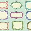 Royalty-Free Stock Vector Image: Hand drawn frames