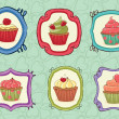 Yummy Cupcakes! — Stock Vector #7707675