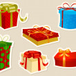 Christmas Presents — Stock Vector
