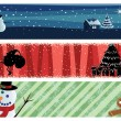 Xmas_banners — Stock Vector