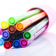 Set of colored markers — Stock Photo