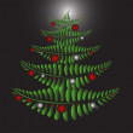 Fern Christmas tree — Stock Vector #7653306