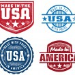 Made in the USA Collection — Stock Vector #7242765