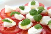 Caprese salat — Zdjęcie stockowe