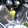 Stock Photo: Engine of the motorcycle