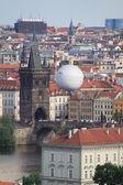 Ballon in prag — Stockfoto