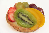 Fruit tartlet — Stock Photo