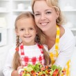 Girls in the kitchen — Stock Photo #7538969