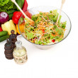 Vegetable salad in a bowl — Stock Photo
