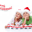 Happy christmas kids — Stock Photo #7539055
