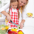 Preparing healthy food - Stock Photo