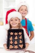 Christmas cookies are ready — Stock Photo